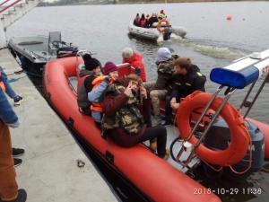 W dniu 29.10.2018 r odbył się egzamin na sternika motorowodnego dla młodzieży z Liceum nr 1.